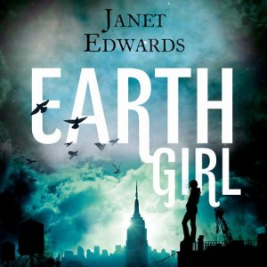 Earth Girl audiobook cover art