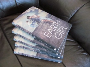Earth Girl USA author copies